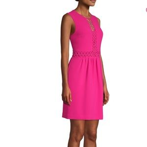 Trina Turk Anastasia Lattice Dress NWT